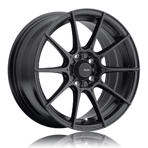 MX5 ND & Fiat 124 Advanti Racing Storm S1  17x 7, 4 x100 , ET35 - Matte Black Wheels